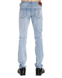 Giorgio Armani - Jeans Denim Used Slim - Lyst