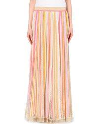 Missoni Metallic Striped Skirt - For Women - Lyst