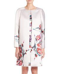 Kay Unger | Floral Ottoman Jacket | Lyst