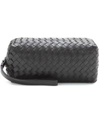 Bottega Veneta Intrecciato Leather Pouch - Lyst