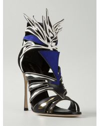 Sergio Rossi 'Tribal Beauty' Sandals - Lyst