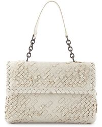 Bottega Veneta Olimpia Tobu Fringe Shoulder Bag - Lyst