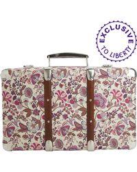 Liberty | Floral Mirabelle Print Mini Suitcase | Lyst