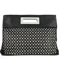 Thomas Wylde | Studded Leather Clutch | Lyst