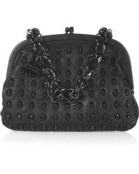 Thomas Wylde | Menace Skull-stud Leather Bag | Lyst