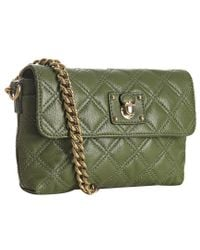 Marc Jacobs | Olive Quilted Leather The Single Flap Shoulder Bag | Lyst
