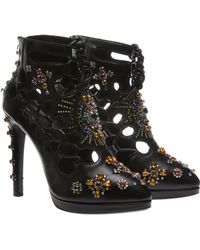 Giuseppe Zanotti x Christopher Kane Shoes with Gems - Lyst