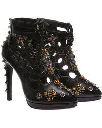 Giuseppe Zanotti x Christopher Kane Shoes with Gems - Lyst
