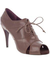 Leopoldo Giordano - Lace Up Shoe - Lyst