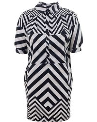 Beyond The Valley - Graphic Patterned Dress - Lyst