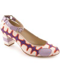 Eley Kishimoto - Patterned Low-heel Shoe - Lyst