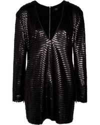 Lublu Mini Sequin Dress - Lyst