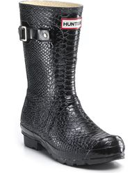 Hunter Boa Short Rain Boots - Lyst