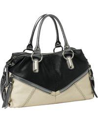B. Makowsky Varick Convertible Leather Satchel - Lyst