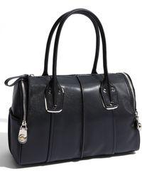 B. Makowsky Whitney Leather Satchel - Lyst