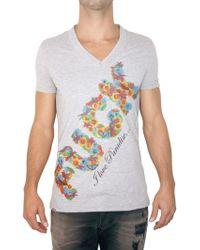 Philipp Plein Swarovski Fuck Jersey T-shirt - Lyst