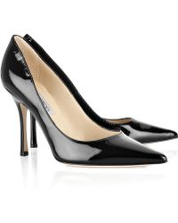 Jimmy Choo Lilac Patent-leather Pumps - Lyst