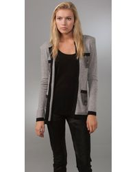 Torn By Ronny Kobo - Cashmere Chain-link Cardigan - Lyst