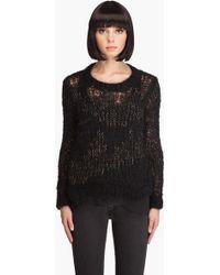 Wayne - Hand Knit Mohair Sweater - Lyst