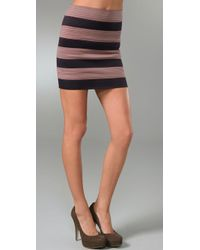 Pleasure Doing Business Striped 8 Band Skirt - Lyst