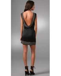 Sheri Bodell - Metal Beaded Low Back Dress - Lyst
