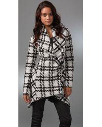 L.A.M.B. - Plaid Shawl Collar Jacket - Lyst