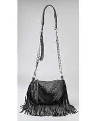 Nanette Lepore - Twisted Fringe Group Leather Mini Bag - Lyst