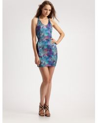 Doo. Ri Printed Jersey Sheath Dress - Lyst