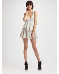 Seneca Rising - Tiered Tunic Dress - Lyst