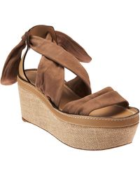 Chloé Back Tie Wedge - Lyst