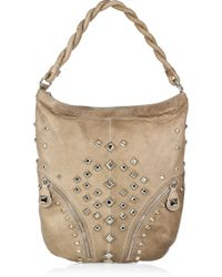 Temperley London - Cirque Studded Leather Hobo - Lyst