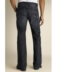 7 For All Mankind Bootcut Jeans (montana Wash) - Lyst