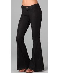 Pray For Mother Nature - Devils Post Pile Flare Jeans - Lyst