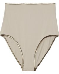 Vanessa Bruno - High-waisted Bikini Briefs - Lyst