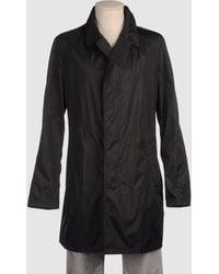 Aquascutum Black Full-length Jacket - Lyst