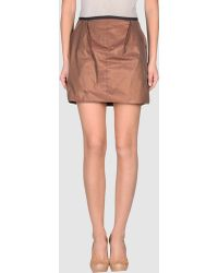 Marlota Mini Skirt - Lyst