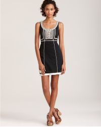 Free People Embroidered Shift Dress - Lyst