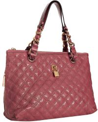 Marc Jacobs - Rose Quilted Lacquered Leather Natasha Zip Tote - Lyst
