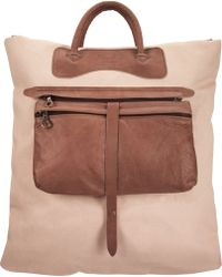 Jas MB - Detachable Leather Pocket Shopper - Lyst