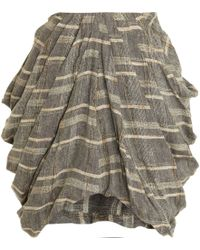 Rodarte x Opening Ceremony Draped Skirt - Lyst