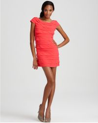 French Connection Pennys Party Tiered Dress - Lyst