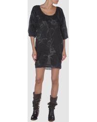 Diesel Black Gold Short Dress - Lyst