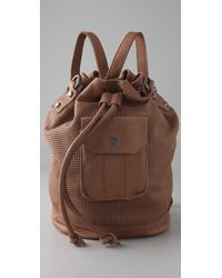 Linea Pelle | Addison Bucket Bag / Backpack | Lyst