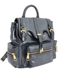 Badgley Mischka - Cherise Metallic Backpack - Lyst