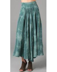 Vena Cava | Monarchy Silk Crepe Skirt | Lyst