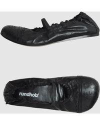 Rundholz - Ballet Flats - Lyst