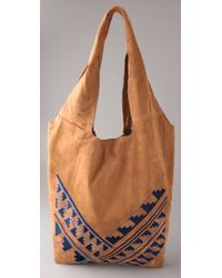 Twelfth Street Cynthia Vincent - Embroidered Grocery Bag - Lyst