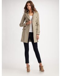 Smythe Clean Trench Coat - Lyst