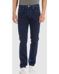 Aquascutum Blue Jeans - Lyst