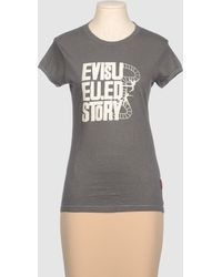 Evisu - Short Sleeve T-shirt - Lyst